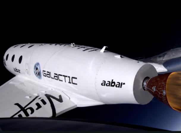Le 10 janvier 2014, le prototype SpaceShipTwo de Virgin Galactic a effectué son 3e vol d'essaie - Capture d'écran