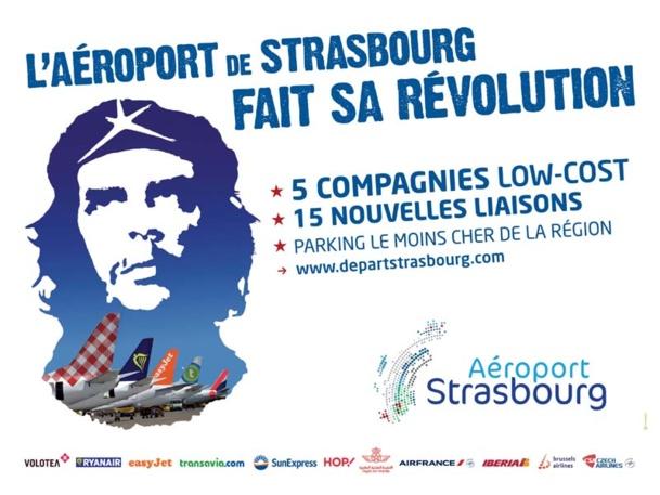 L'aéroport de Strasbourg fait sa révolution avec Che Guevara