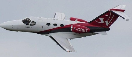 Les passagers en premières d'Air France pourront profiter des jets privés de Wijet pour être acheminés au départ ou à l'arrivée de CGD - Photo DR