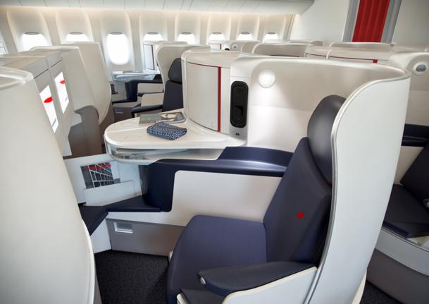 Le nouveau fauteuil business d'Air FranceStyles & Design - vue 3D