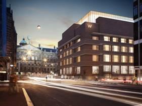 Le W Amsterdam ouvrira ses portes au public au cours de l'automne 2015 - Photo DR