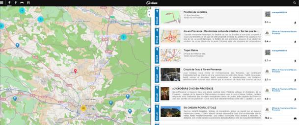 Cirkwi.com est une plateforme en ligne gratuite qui réunit les services de Circuits-de-France et Circuits-de-Belgique - Capture d'écran