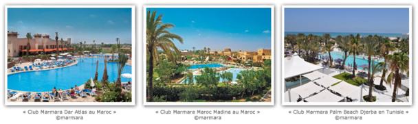 Des offres inédites SPA et GOLF à vivre dès à présent dans les Club Marmara au Maroc et en Tunisie !