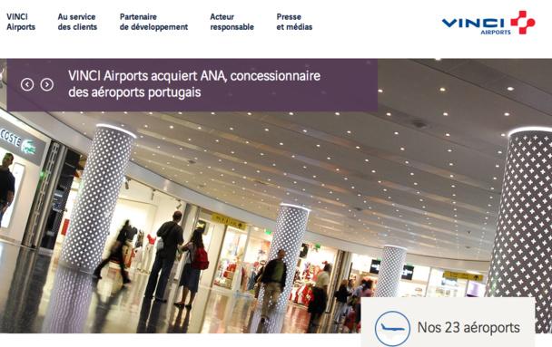 Le groupe Vinci gère aujourd'hui 23 aéroport, dont une dizaine en France. DR