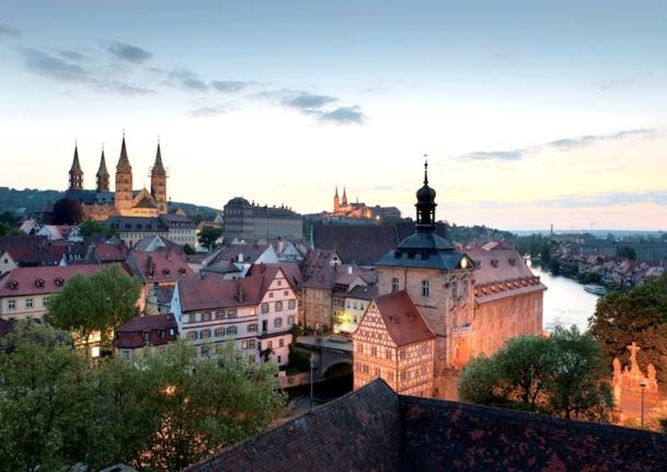 La vieille ville de Bamberg, l'un des 36 sites UNESCO de l'Allemagne. © FrankenTourismus TKS Bamberg Hub