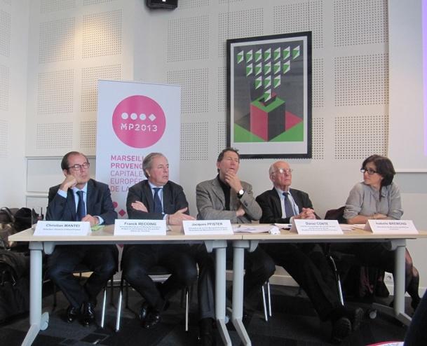 Les acteurs de l'économie et du tourisme à Marseille sont satisfaits du bilan de 2013 et comptent poursuivre la croissance dès 2014 - Photo P.C.
