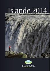 La brochure d'Island Tours est consacrée à l'Islande et au Groenland - DR