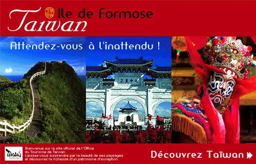 Taiwan : hausse des touristes français au 1er trimestre