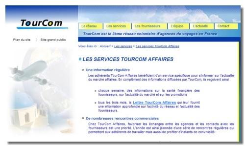 TourCom Affaires proposera bientôt un portail aérien à ses adhérents
