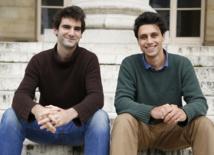 Charles Guilhamon et Hugo Bailey, les fondateurs de Darjeelin - DR
