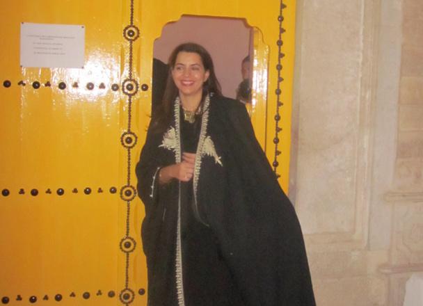 La nouvelle ministre du tourisme de Tunisie, Amel Karboul, puisqu'il s'agit d'elle, est assez étonnante. Elle ne se cache pas derrière son petit doigt - DR : M.S.