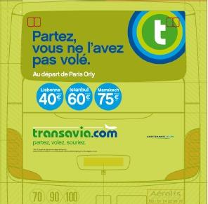 transavia.com accroche ses clients avec humour pour sa dernière campagne de communication - DR