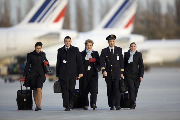 It is not totally unrealistic to expect new aircrew recruitments in companies such as in Air France - DR : Laurent Masson / AF