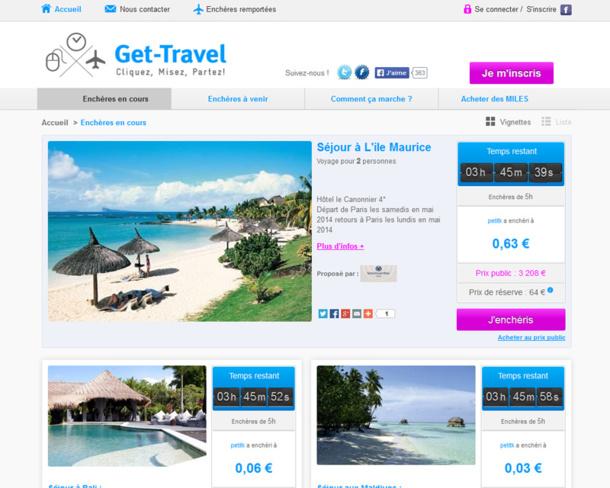 Enchères : rien ne va plus pour le voyage avec Get-travel.com !