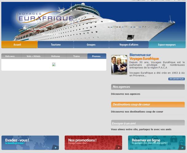 200 personnes sont attendues pour la première édition du salon du voyage d'affaires de Voyages Eurafrique - Capture d'écran