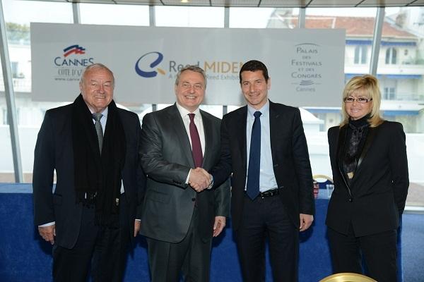 Le renouvellement de l'accord s'est déroulé en marge de l'ouverture du Mipim à Cannes - Photo DR