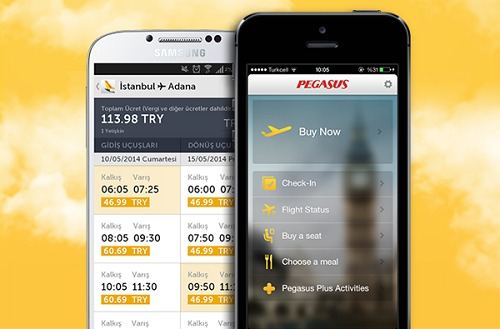 La nouvelle application mobile de Pegasus Airlines est disponible gratuitement sur l'App Store et sur Google Play - DR