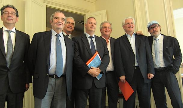 Les membres de la Médiation Tourisme et Voyages. photo LAC