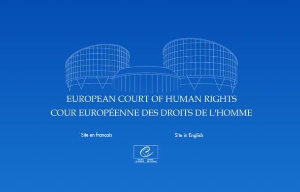 Le site internet de la juridiction européenne - Capture d'écran