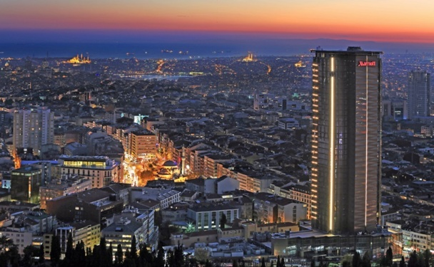 Eastern Europe : opening of the Istanbul Marriott Hotel Sisli