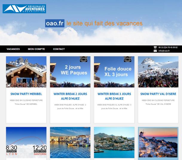 Originales Aventures Organisation mise sur les îles grecques pour sa première production de séjours individuels - Capture d'écran