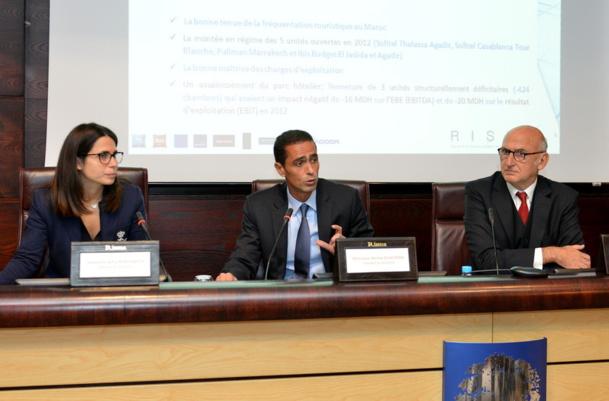 Sofia Benhamida, Amine Echcherki et Marc Thépot - DR