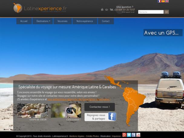 Sandra Léger, qui dispose d'une expérience de 25 ans dans le secteur du voyage sur l'Amérique Latine a lancé en juillet 2013 : Latinexperience.fr - DR