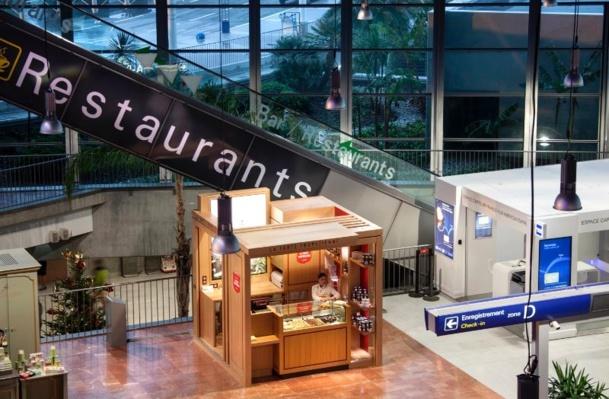 La tarte Tropézienne inaugurera le 7 avril 2014, une boutique de 9 m2 en zone d'embarquement du terminal 2 de l'aéroport International Nice Côte d'Azur - DR