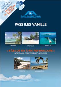 Réunion : Air Austral lance le pass Iles Vanille