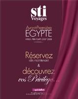 STI Voyages : nouvelle production Egypte 2007/2008
