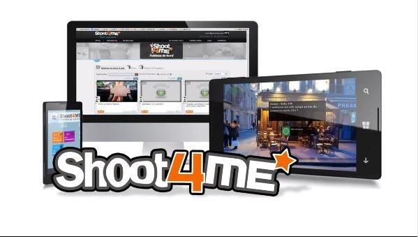 Shoot4Me permet de déléguer la prise de photos sous forme de mission, accessible depuis tout appareil connectés à internet - DR