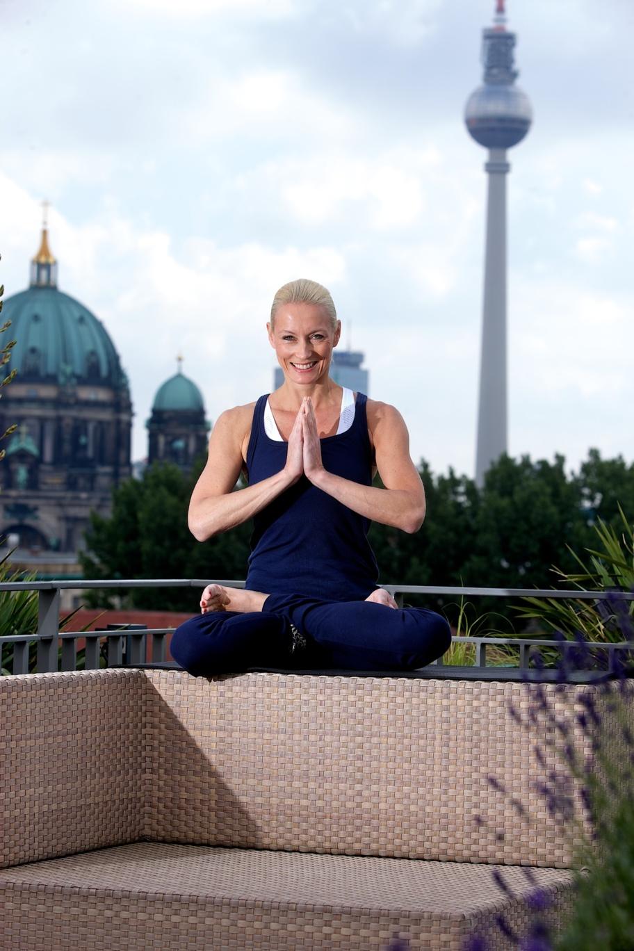 Yoga à Berlin : prenez de la hauteur pour méditer à l'hôtel de Rome !
