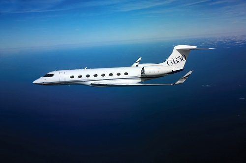 Pour acheter le Gulfstream G650, il faut patienter près de 3 ans à l'heure actuelle - Photo DR