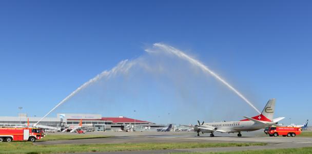 Etihad Regional inaugure son vol entre Toulouse et Genève