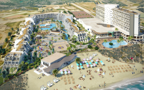 Le premier Hard Rock Hôtel d'Europe ouvrira ses portes les 18 mai prochain à Ibiza. DR