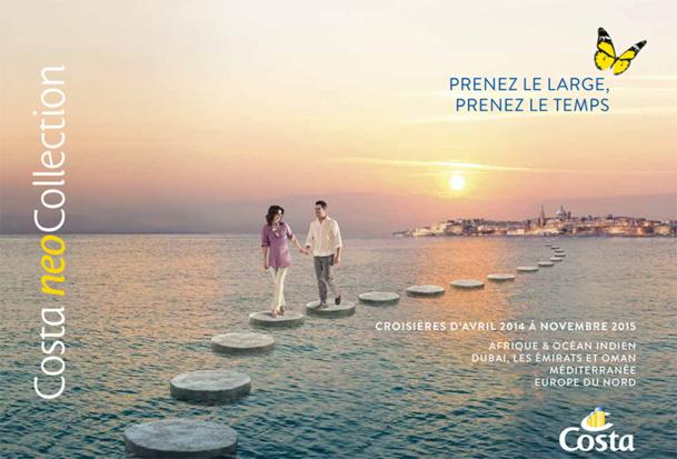 Costa Croisières dévoile sa première brochure neoCollection