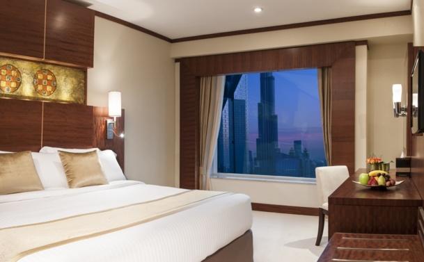 Warwick Hotel Dubai dispose de 357 chambres et suites, réparties sur les 47 étages - DR WIH