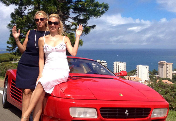Géraldine Guigue et Céline Naville participeront au Rallye des Princesses, à bord d'une voiture d'époque, entre Paris et Saint Tropez - DR : Princesses.cn
