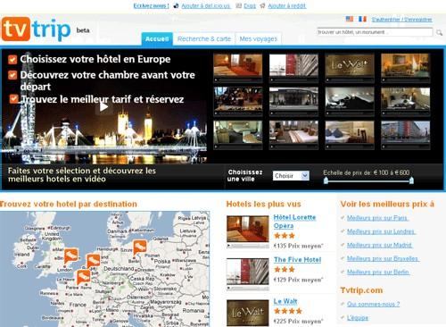 Tvtrip.com : visiter son hôtel en vidéo avant de réserver