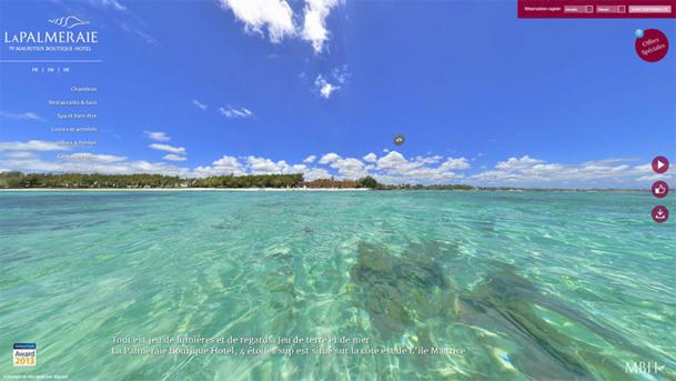 Ile Maurice : le site Internet de La Palmeraie se refait une beauté