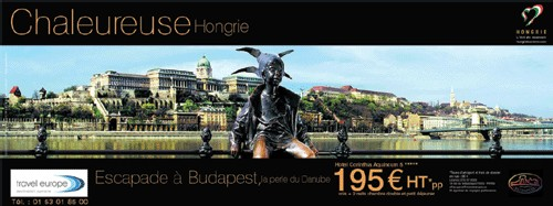 La Hongrie s'affiche dans le métro !