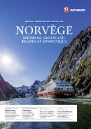 La brochure 2015 d'Hurtigruten est disponible en agences de voyages - DR