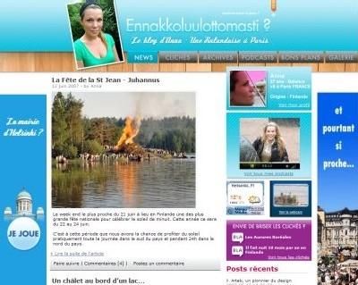 Finlande : ''Briserlaglace'' avec Anna