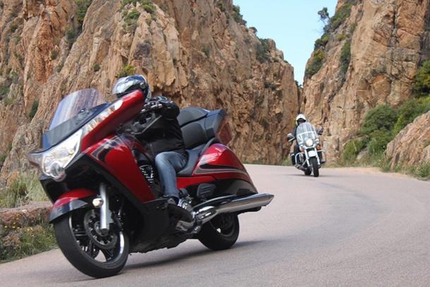 La 4ème édition des Motards du Tourisme passera par le Cap Corse - DR : J.B.