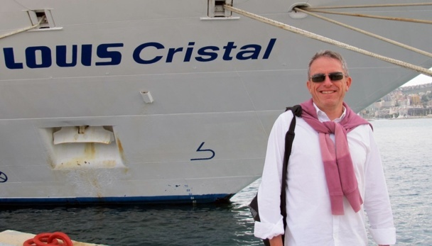 "Richou Travel : Hervé Renoux tested the ""Louis Cristal"" in Greece"