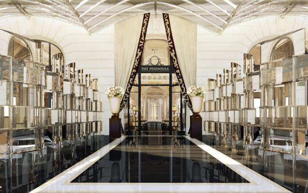 L'hôtel Peninsula Paris ouvrira ses portes le 1er août prochain - DR Peninsula