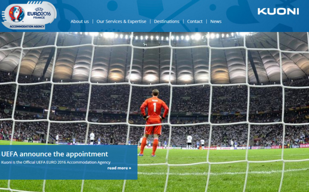 Kuoni launches new website for the UEFA EURO 2016