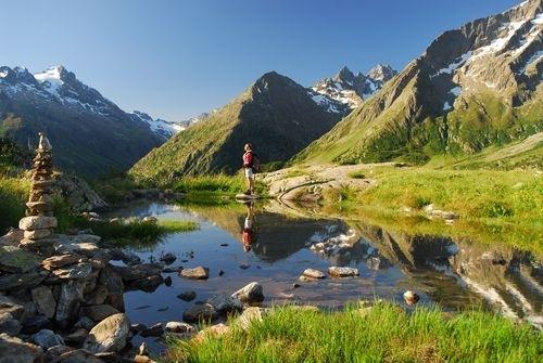 Dans le massif de l'Oisans (Crédit Images & Rêves)