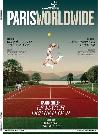 Les voyageurs peuvent trouver Paris Worlwide dans les aéroports de Paris à partir de ce lundi 12 mai 2014 - DR