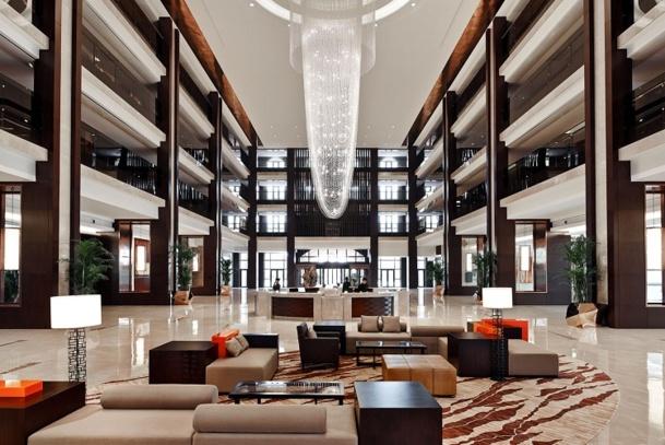 Le Marriott International de Jixian a ouvert ses portes le 27 avril 2014 - Photo DR